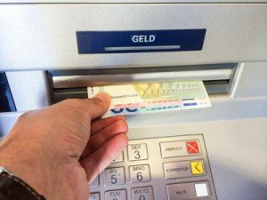 Bargeld am Geldautomat