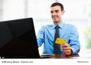 Business Einsatz der Kreditkarte